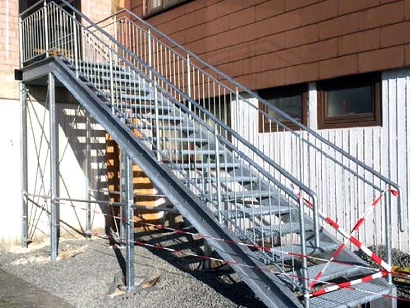 Muster TA 10 - Treppenanlagen