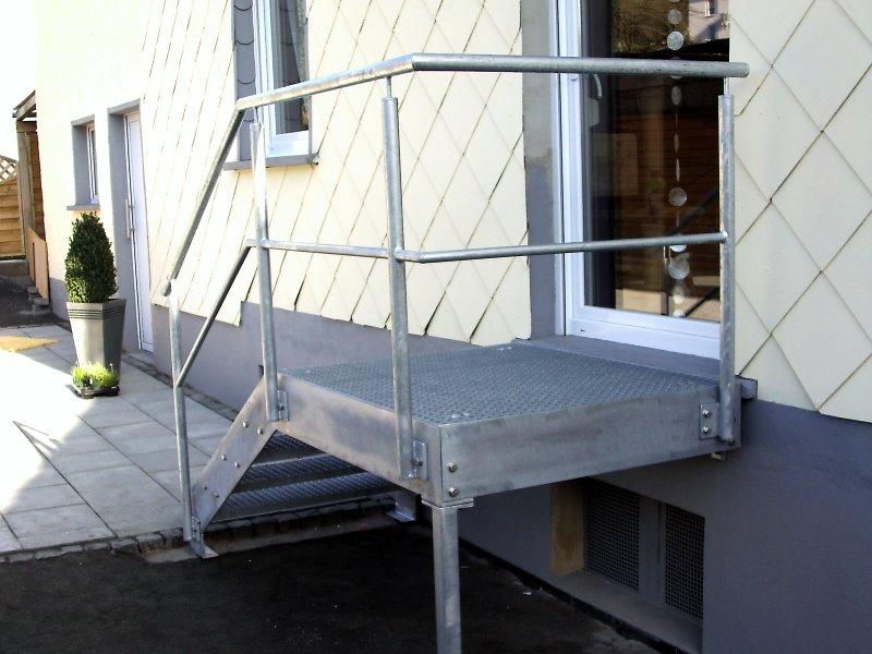 Muster TA 11 - Treppenanlagen