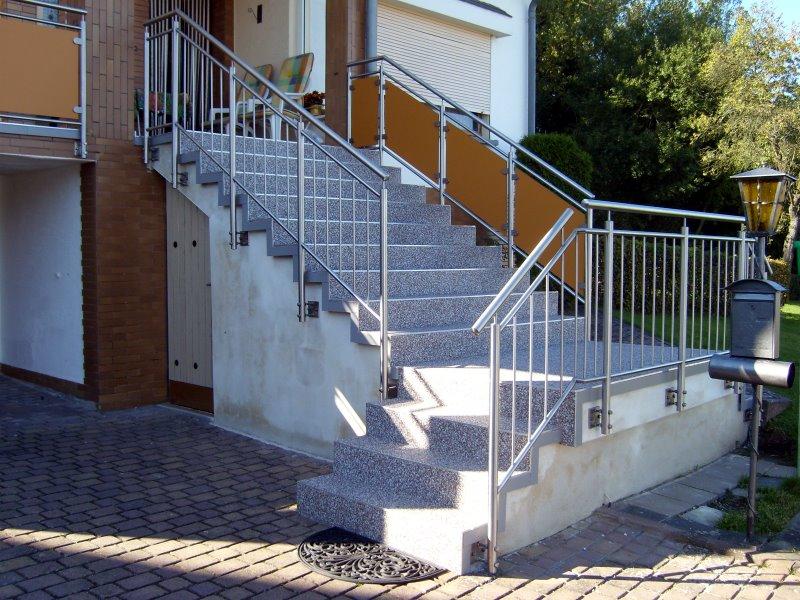Muster TG 02 - Treppengeländer