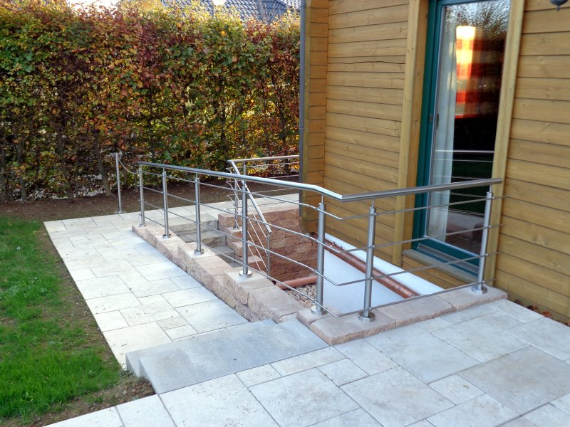 Muster TG 07 - Treppengeländer