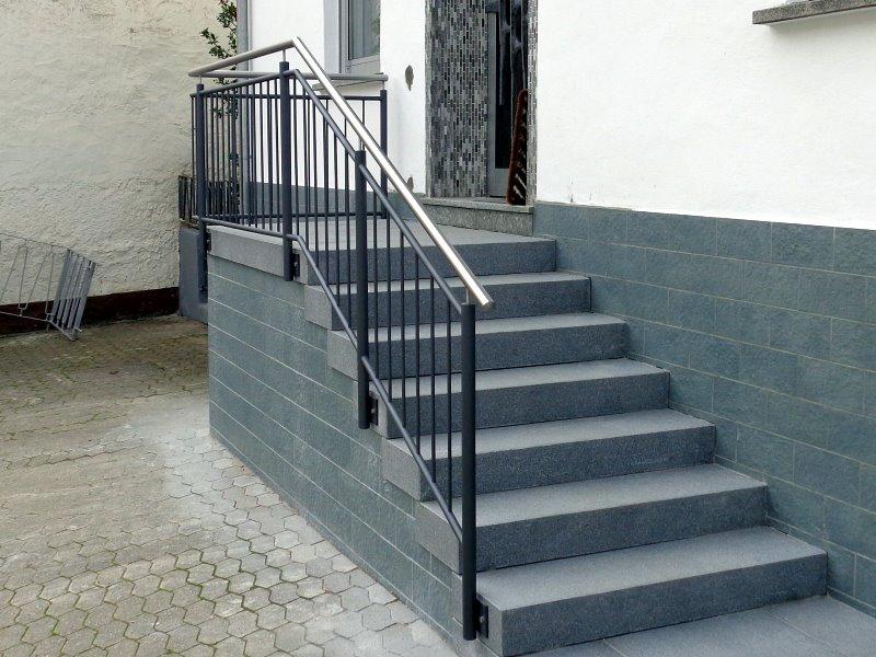 Muster TG 08 - Treppengeländer