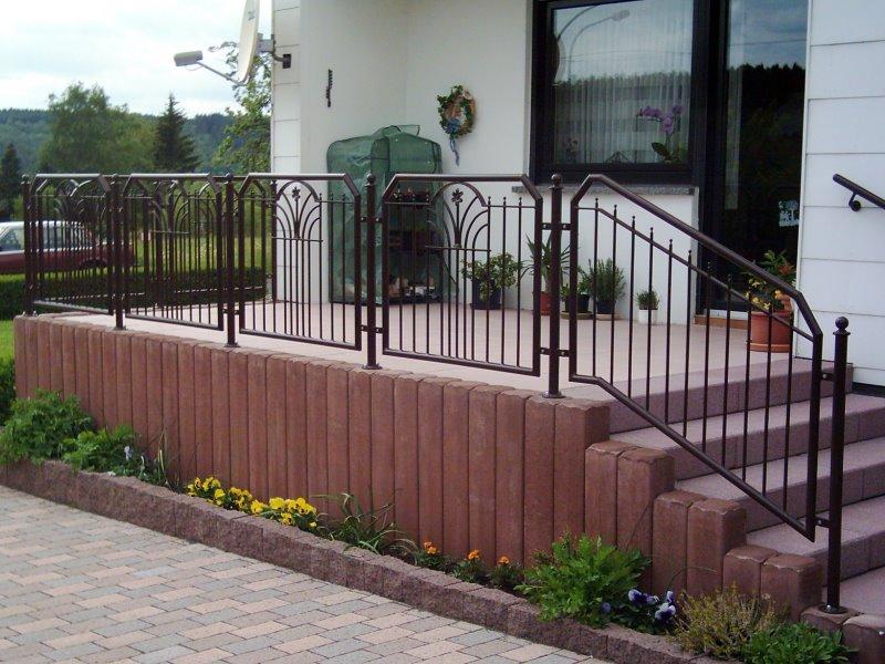 Muster TG 09 - Treppengeländer