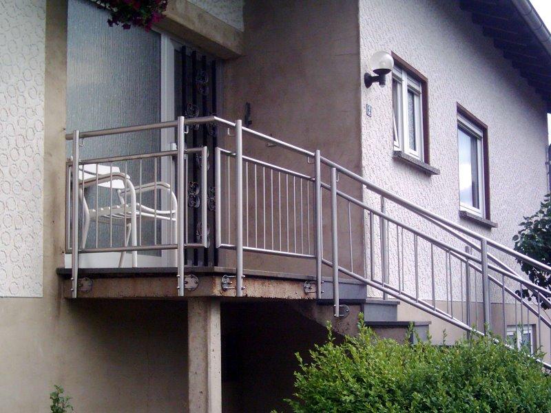 Muster TG 11 - Treppengeländer