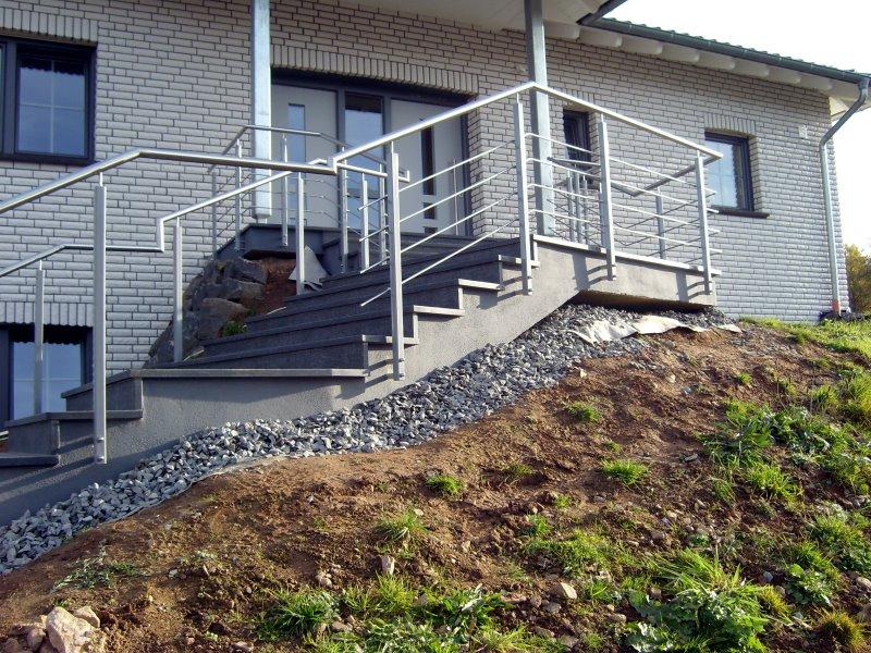 Muster TG 15 - Treppengeländer