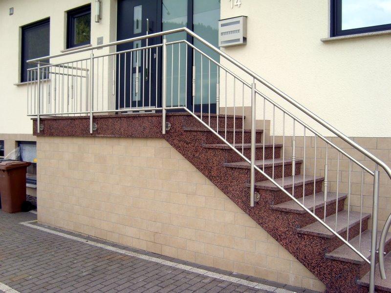 Muster TG 16 - Treppengeländer
